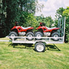 apache double quad mesh trailer