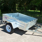 small road trailer standard ramp apache