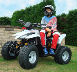 quad bikes from Apache SX SilverSport