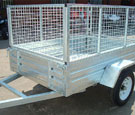 apache trailer cage caged mesh